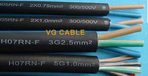 H07rn-f 3g2 5 cable meaning? cable h07rnf datasheet and price