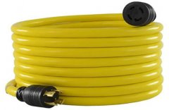 generator extension cord into house & 100 ft & portable & heavy duty